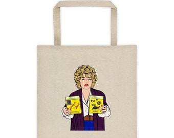 ONE DAY SALE Dolly Parton 9 to 5 Canvas Tote bag