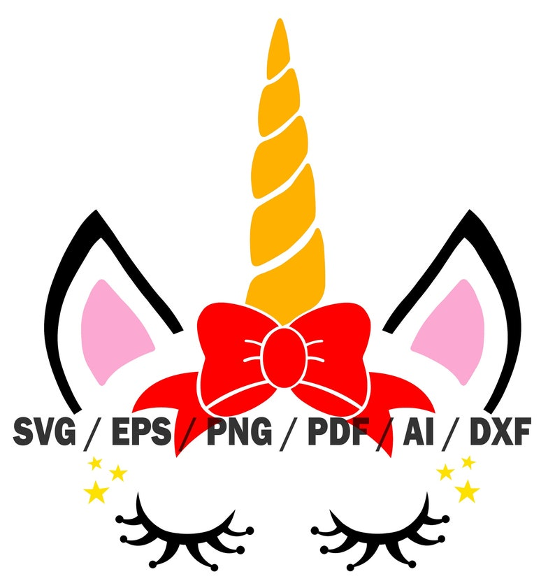 Unicorn 4, Unicorn svg, Unicorn, Silhouette, sublimation, sublimation,  screen printing, Tshirt, SVG, Eps, Png, PDF, Ai, DXF