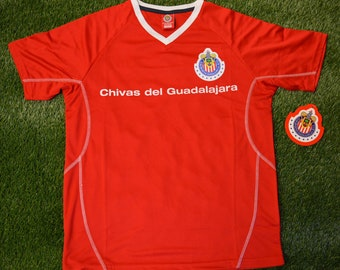 70ac8dad5 Mens Chivas Rayadas de Guadalajara Jersey Soccer official licensed T-Shirt  all sizes Adults Personalized Your Name and Number Mexico