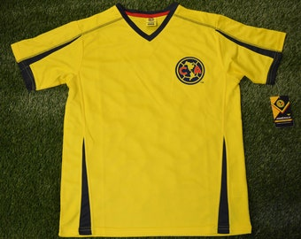 8f4bc79b94e Mens Club America Jersey Soccer official licensed T-Shirt all sizes Adults  Personalized Your Name and Number Aguilas del America Mexico