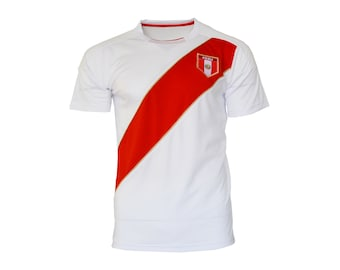 Peru Tee T-Shirt all sizes Adults and Kids Sizes Flag Jersey Pride  Personalized Your Name Peruvian f39f0046b