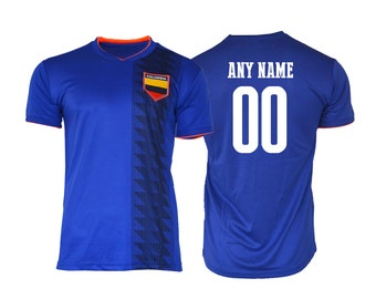 dc88c25d095 Colombia Soccer Football Tee T-Shirt all sizes Adults and Kids Sizes World  cup Flag Jersey Pride Personalized Your Name