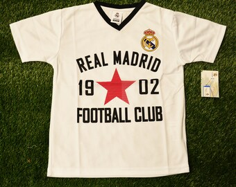 2bd790fc6 Youth Real Madrid Jersey Soccer official licensed T-Shirt all sizes Adults  Personalized Your Name and Number la liga