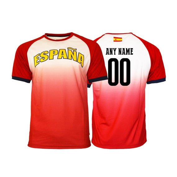 d0482c4fb9d Spain Soccer Football Tee T-Shirt all sizes Adults Sizes