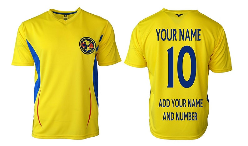 da36a29245c Mens Club America Jersey Soccer official licensed T-Shirt