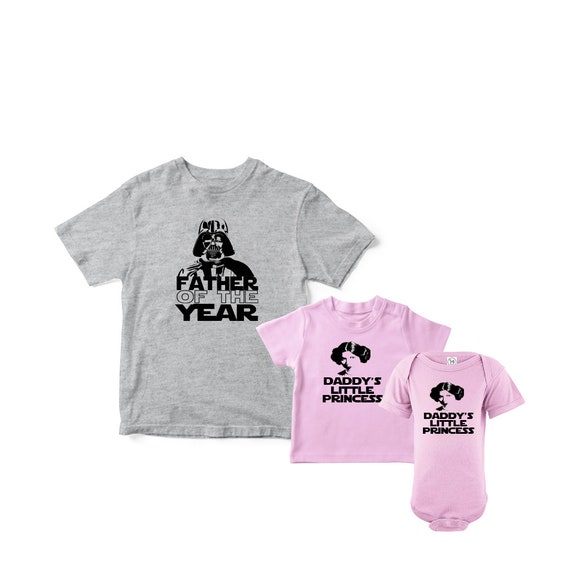 9f3981f87 Father Daughter matching t-shirt set star wars daddy and   Etsy