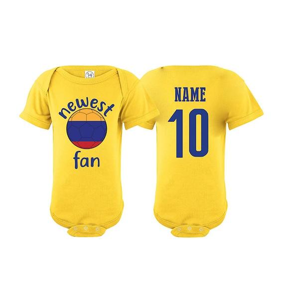Cuba Bodysuit Soccer Baby Outfit Mameluco Infant Girls Boys T-shirt Kid