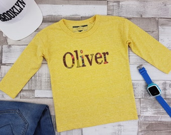 Boy's 'Oliver' Long Sleeve Top, size 12 to 18 mth
