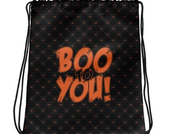 Not So Scary (Drawstring Bag)