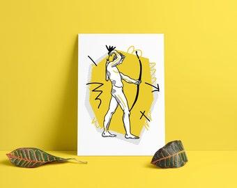 MEGA SALE ! Cabane De Zucca x Adrien Genty Sleeveless Tshirt Pop Art Design Rare Design Nice Print Designer Brand