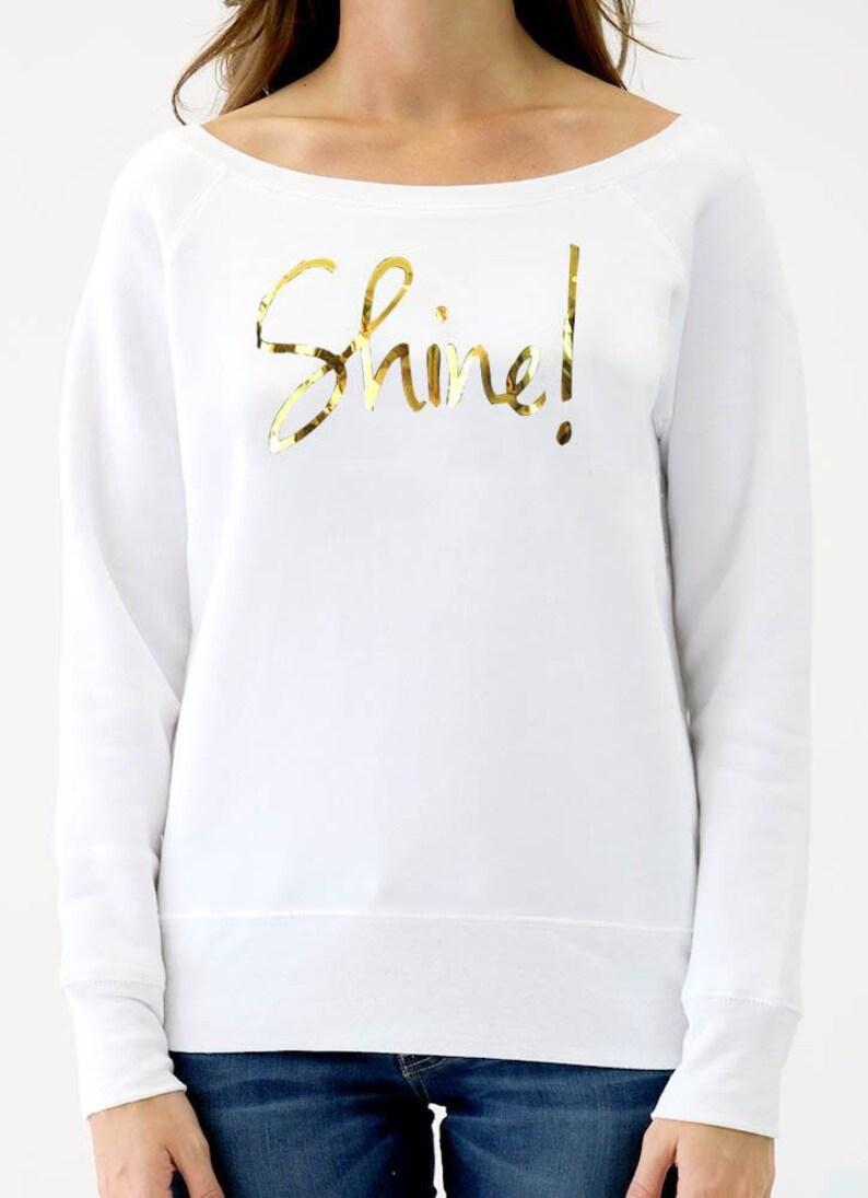 Shine Wideneck Sweatshirt