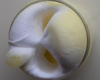 Banana Cream Pie Banana scented Butter Slime  (Borax Free)