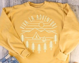 1d50bc461ba8 Viva La Adventure Crewneck Sweatshirt