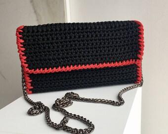 handmade crochet elegant little purse