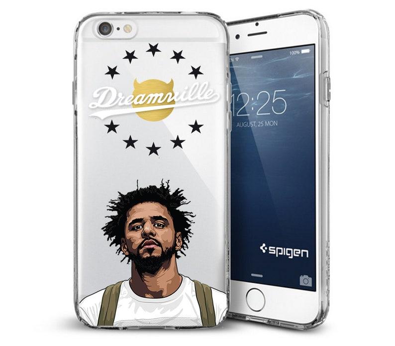 J Cole in Conser iphone case
