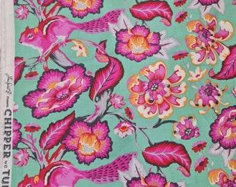 Tula Pink chipper chipmunk rare oop vhtf fq 45x54cm cotton fabric