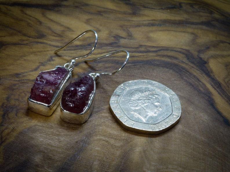 Ruby Earrings,Ruby Jewelry,Gemstone Earrings,Jewelry,Handmade Jewelry,Natural Jewelry,Statement Jewelry,Gift For Her,Bohemian Jewelry,Silver