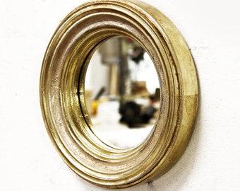 Ronde Houten Spiegel : Ronde goud spiegel maan prinses ronde houten etsy