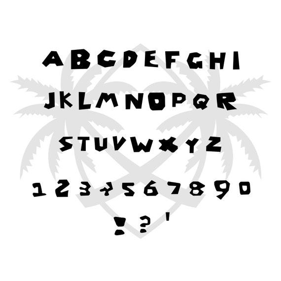 Download Roblox Font SVG Pack Roblox svg Alphabet & Symbols Roblox ...