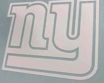 New York Giants Vinyl Decal