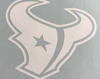Houston Texans Vinyl Decal