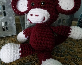 Handmade Mom Quilting Gift for Her Fun Sewing Buddy Sock Monkey Lined Collect Pincushion Pin Cushion 5 Choices Quilted 3.5 Sewing