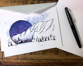Snow Globe Holiday Greeting Card