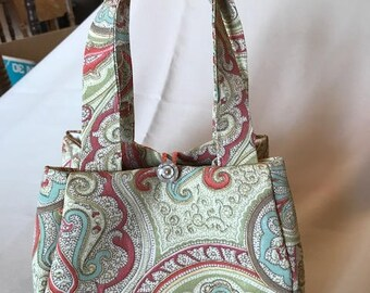 "Paisley ""Petite Evening Bag""   Individually hand crafted"