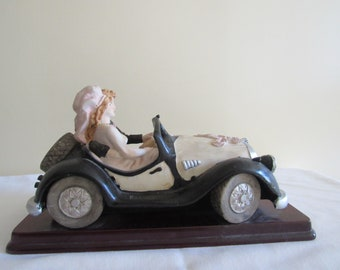 Vintage Car Honeymoon Get Away