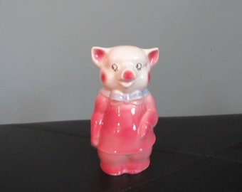 Ceramic Mid Century Piggy Bank