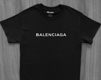 eaa27dc92 Balenciaga Logo T-Shirt Bernie Off-White Yeezy Kanye West Bogo Fear of God  VLone Palace Gucci CDG Hype Hypebeast Travis Scott Saint laurent