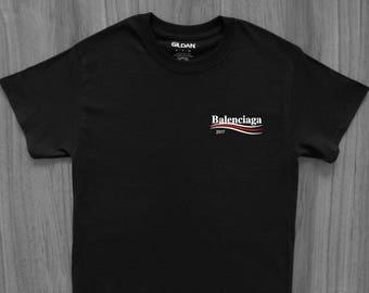 Balenciaga 2017 Campaign T-Shirt Bernie Off-White Bape Yeezy Kanye West  Bogo Fear of God VLone Palace Gucci CDG Hype Hypebeast Travis Scott 47c28a6943f
