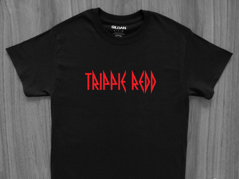 Trippie REDD logo Koszulka XXXtentacion Wish Diplo Tekashi