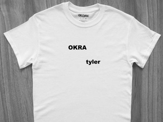 Tyler The Creator Okra T Shirt Golf Wang Ofwgkta Earl Etsy
