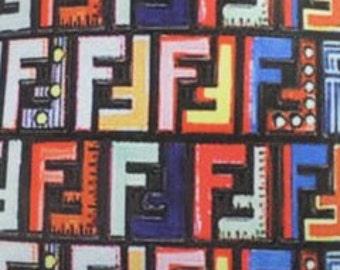 25878fc78 Fendi Inspired Designer Print Spandex