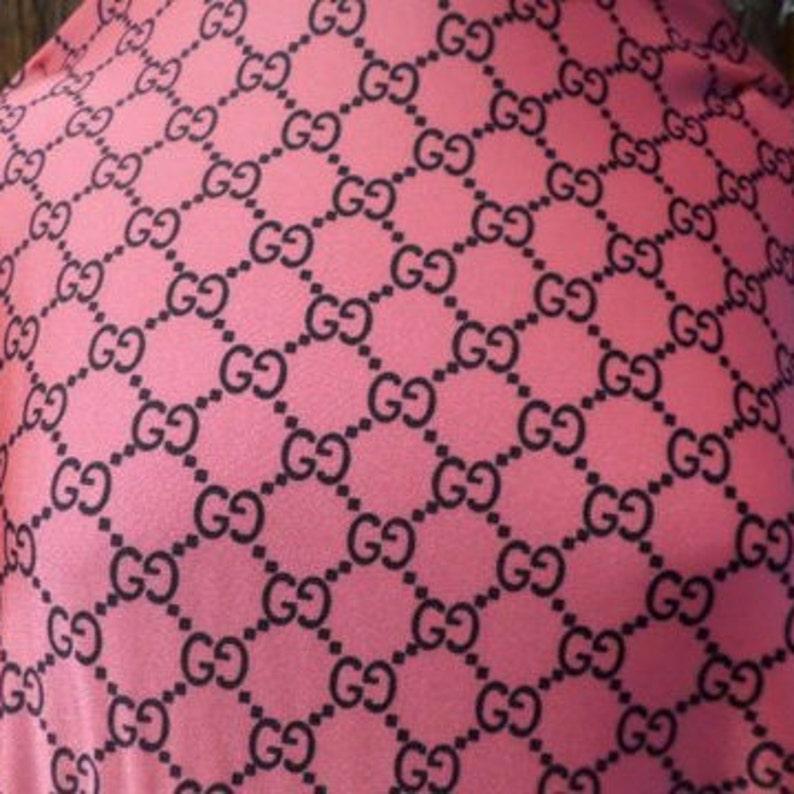 e958b1f4fff1 Gucci Designer Inspired Print Fabric Spandex By The Yard