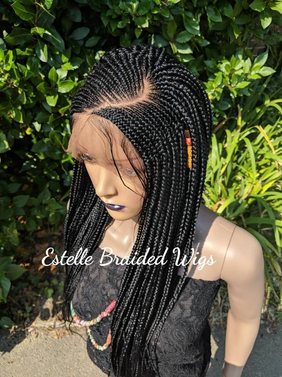 Pleasant Braided Lace Wig Ghana Weave Neat Cornrows And Braids Full Etsy Schematic Wiring Diagrams Amerangerunnerswayorg
