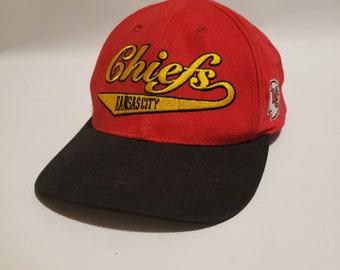 1d082d78613c2 Kansas City Chiefs Reebok Vintage NFL Pro Line Snapback Hat