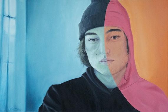 Portrait of George Miller Joji Pink Guy Poster   Etsy
