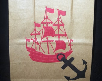 Pirate Party Bags x 10