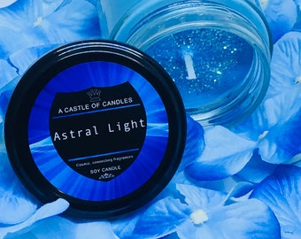 Astral light - Soy Candle - Hand poured and made to order