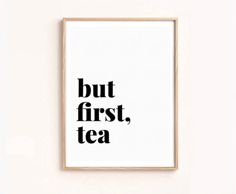 photograph relating to Printable Word Art identify Still 1st tea, artwork print, words print, phrase artwork, downloadable, printable, quick down load, minimalist artwork, straightforward, artwork print
