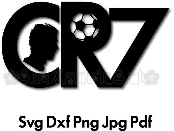 Cristiano Ronaldo Svg Png Pdf Jpg Dxf File Cr7 Etsy