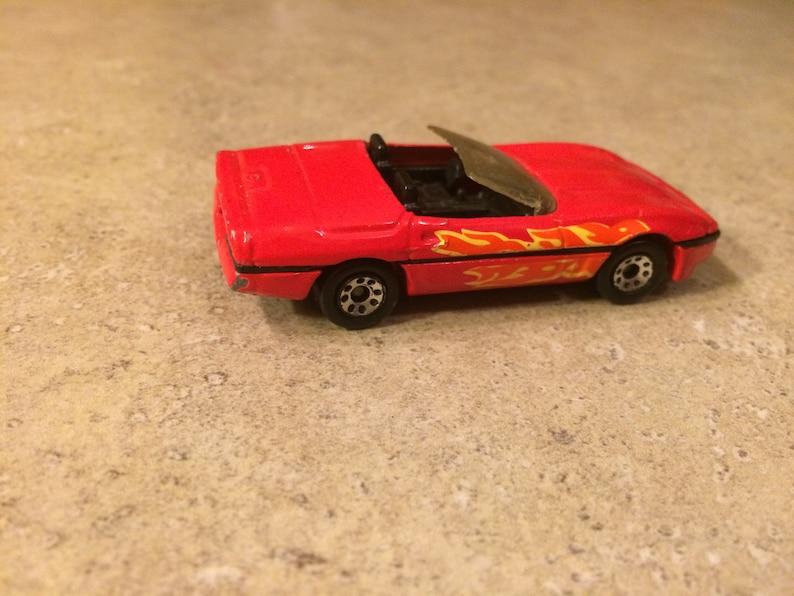 Matchbox 1987 Corvette Scale 1:56 Diecast Kellogg/'s Promo Car
