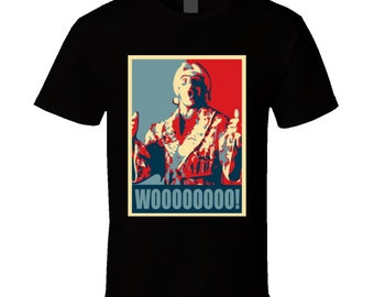 Ric Flair Cool Nature Boy Awesome Hope Parody Wrestlin T Shirt