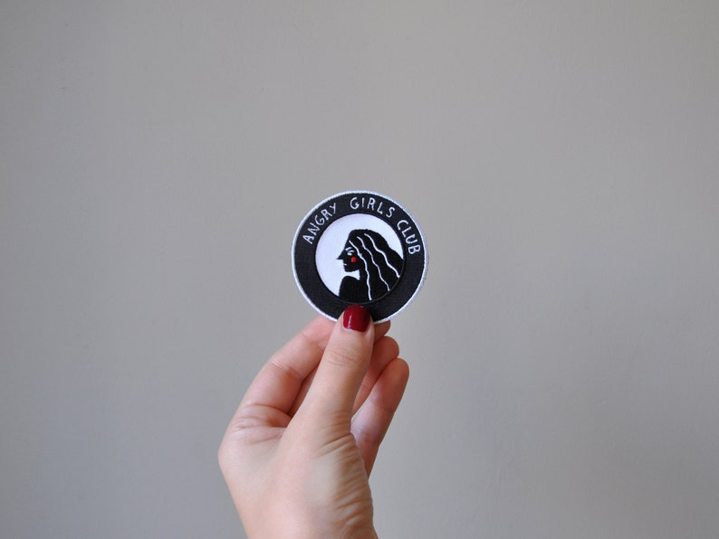 Angry Girls Club Patch image 0