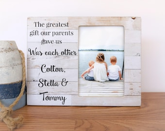 Siblings Frame Etsy