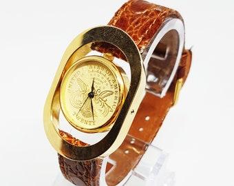 ab4b3d9b677a Rare Vintage retro womens watch gift for women her watches Damenuhr Uhren  für Frauen