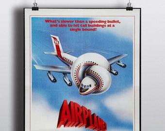 Airplane! - Vintage Classic Movie Poster Print
