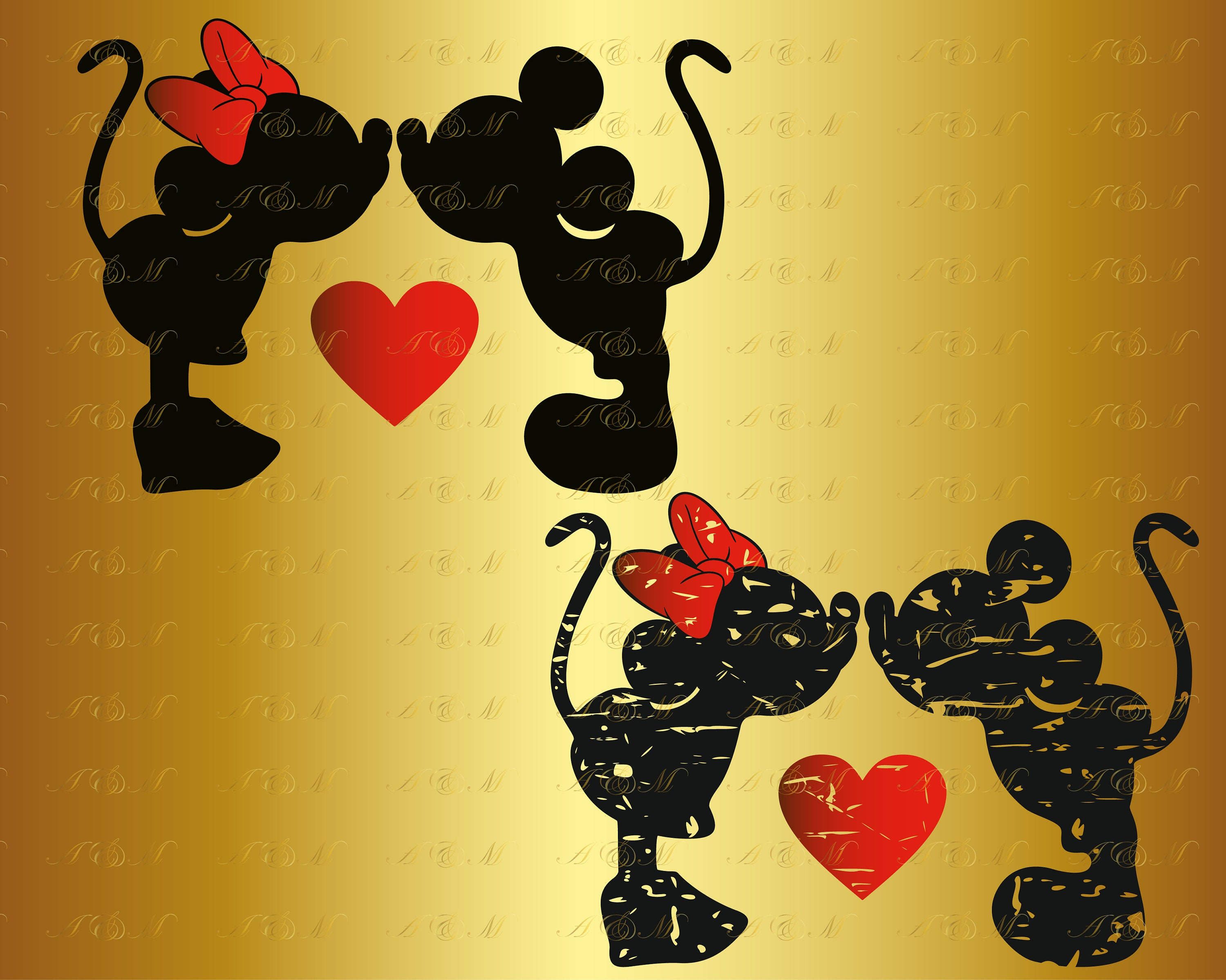 60 Off Mickey Minnie Kiss Grunge Svg Distressed Svg Mouse Etsy